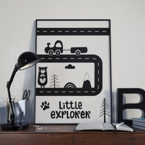 Plakat Droga Little Explorer