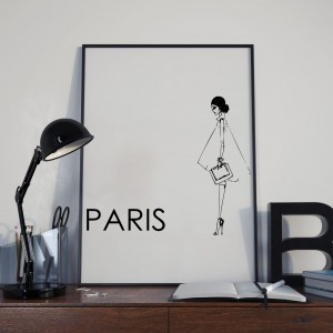 Plakat Paris Fashion