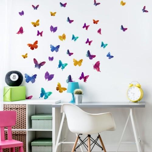 Naklejki Na ścianę Korolowe Motyle