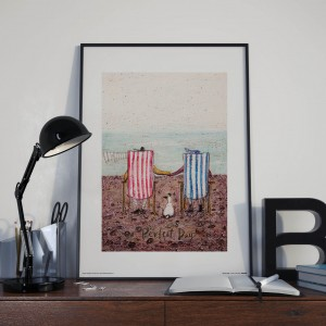 Plakat, Sam Toft Perfect Day - plakat premium