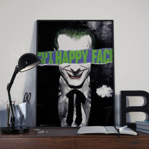 Plakat,DC Comics Joker Happy Face