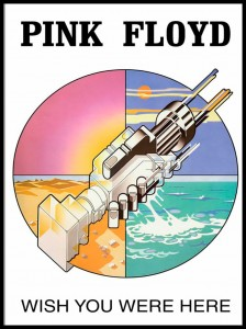 Plakat, Pink Floyd Wish You Were Here 61x91