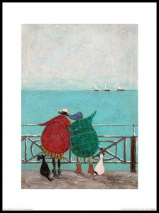 Plakat, Sam Toft We Saw Three Ships Come Sailing By - plakat premium