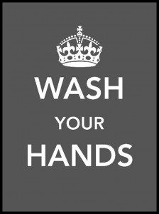 Plakat, Wash Your Hands