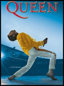 Plakat, Queen - Live at Wembley - Freddie Mercury