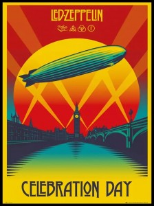 Plakat, Led Zeppelin Celebration Day 61x91