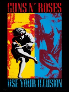Plakat, Guns N' Roses Use Your Illusion 61x91