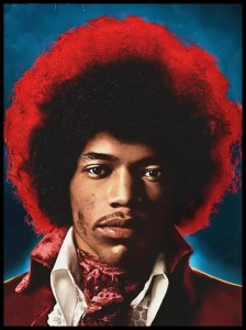 Plakat, Jimi Hendrix Both Sides Of The Sky 61x91