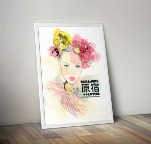Plakat China Girl