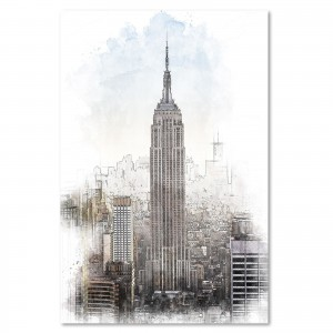 Obraz na płótnie - Canvas, Empire State Building