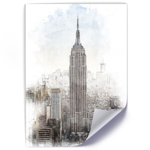 Plakat, Empire State Building