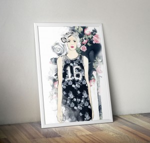 Plakat Fashion 30x40