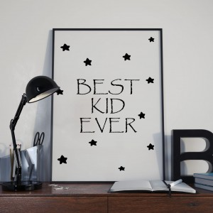 Plakat Best Kid Ever