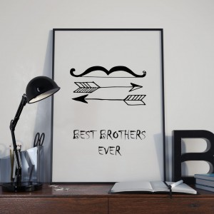 Plakat Best brothers ever